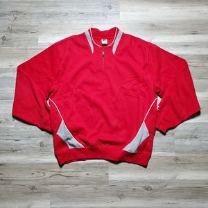 team issue college sweater by Russell size xl